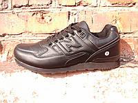 Кроссовки мужские чёрные BONOTE удобные спортивные M018