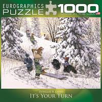 """Пазл """"Твоя очередь"""", 1000 элементов, EuroGraphics"""