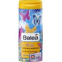 Шампунь-гель Balea Kids Schmetterlinge - для детей Бабочки, 300мл.