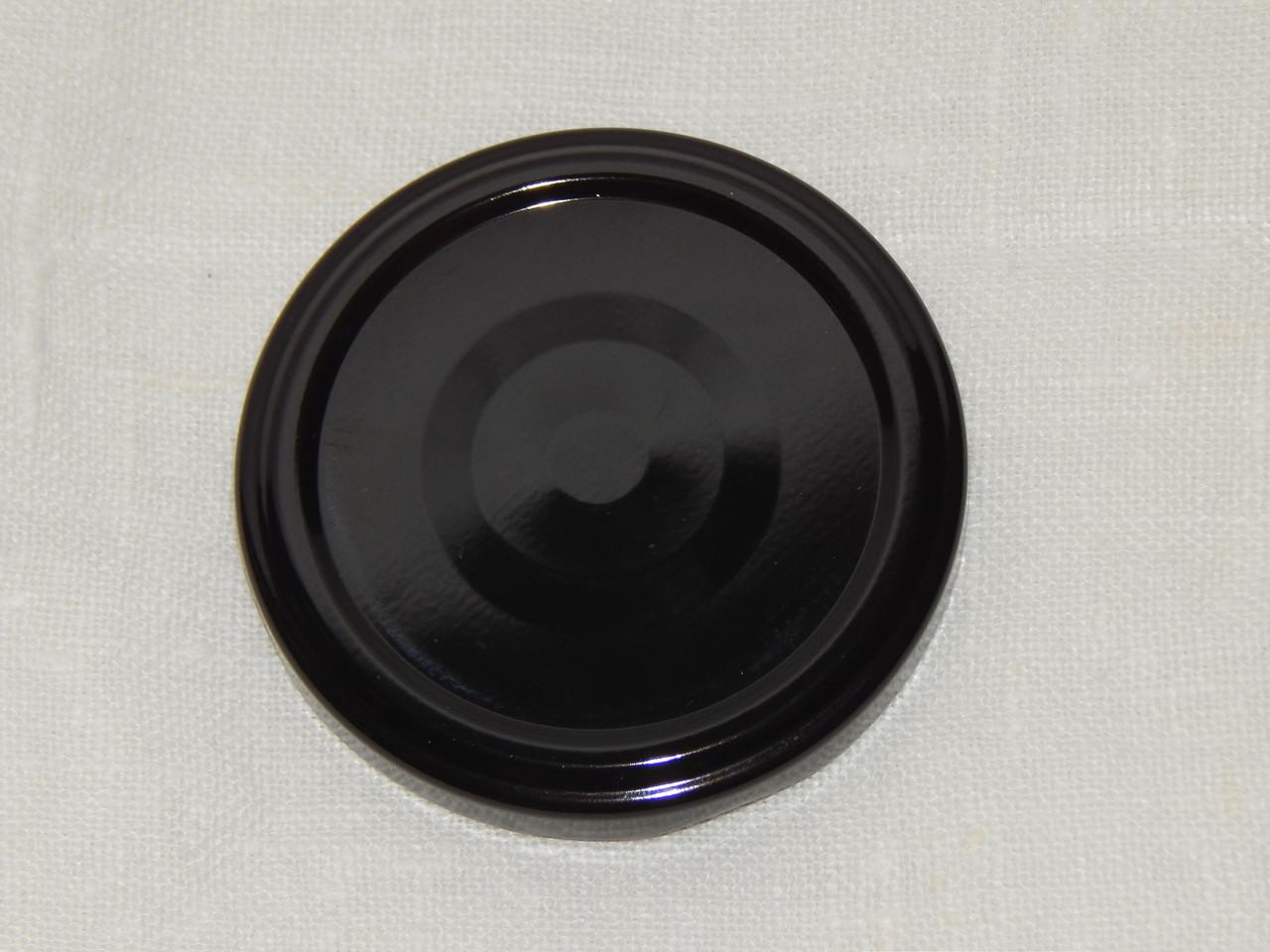 Крышка закаточная твист-офф размер 66 мм чёрная