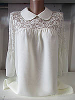Женская блузка шифон S M L XL  купить оптом
