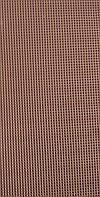 Пластина набоечная ЕТ 500х500х6,6мм (Пирамида) коричневая