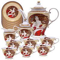 Сервиз чайный А.Муха-Танец (15 частей)