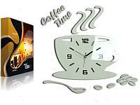 Настенные часы для кухни CUP 3D ULTRA SILENT