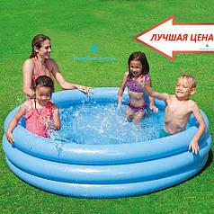 """Детский бассейн """"Кристалл"""" Intex 58446 размером 168х38см, объём: 581л."""