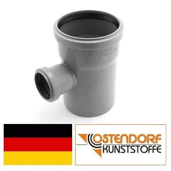 OSTENDORF (Германия), тройник HTEA 110х50х90, для внутренней канализации
