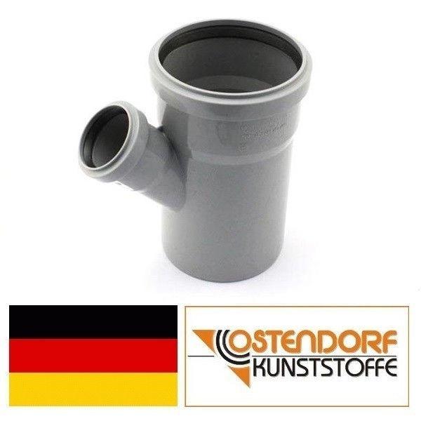 OSTENDORF (Германия), тройник HTEA 110х50х45, для внутренней канализации