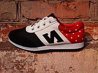 Женские кроссовки на шнурках  удобные красивые модные M024