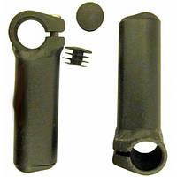 Рога алюминиевые короткие 100mm, черные