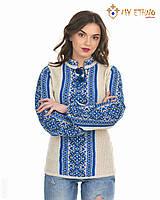 Женская рубашка вязаная Цветочек ультра, фото 1