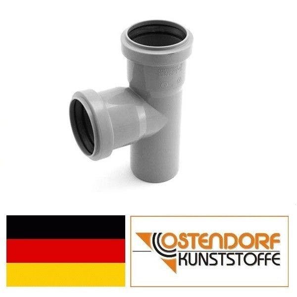 OSTENDORF (Германия), тройник HTEA 50х40х90, для внутренней канализации