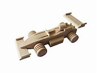 Игрушка деревянная  Гоночная машина