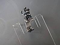 "Серебряное кольцо - обнимашка  ""Йоркширский терьер"""
