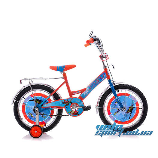 Детский велосипед Mustang Аэротачки 14 дюймов
