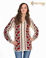 Женская рубашка вязаная Калина новая, фото 1