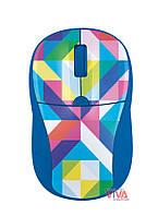 Мышь Trust Primo Wireless Mouse Blue Geometry, фото 1
