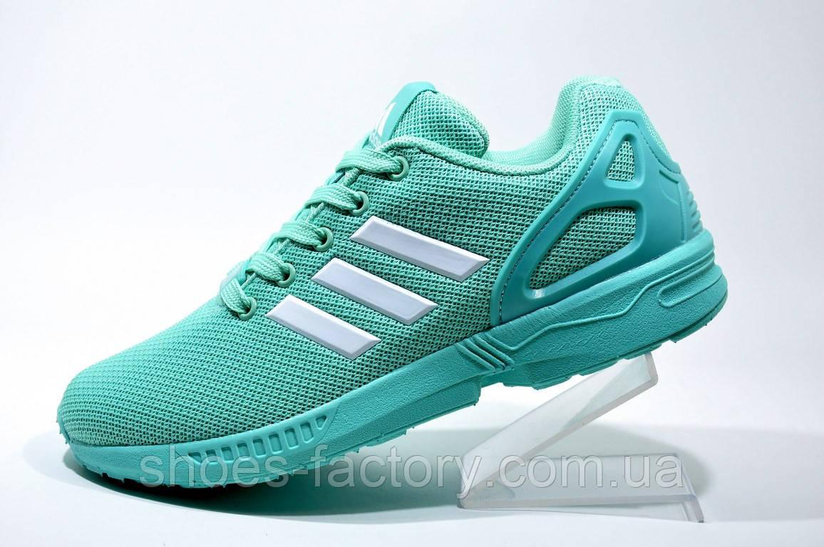 Женские кроссовки в стиле Adidas ZX Flux, Бирюзовые - Bigl.ua 3a95bf5343e