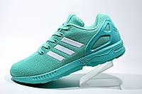 Женские кроссовки Adidas ZX Flux, Бирюзовые