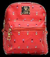 Маленький женский рюкзак H&H кораллового цвета GWO-000304