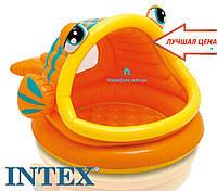 "Детский бассейн ""Ленивая рыба"" Intex 57109 124х109х71"