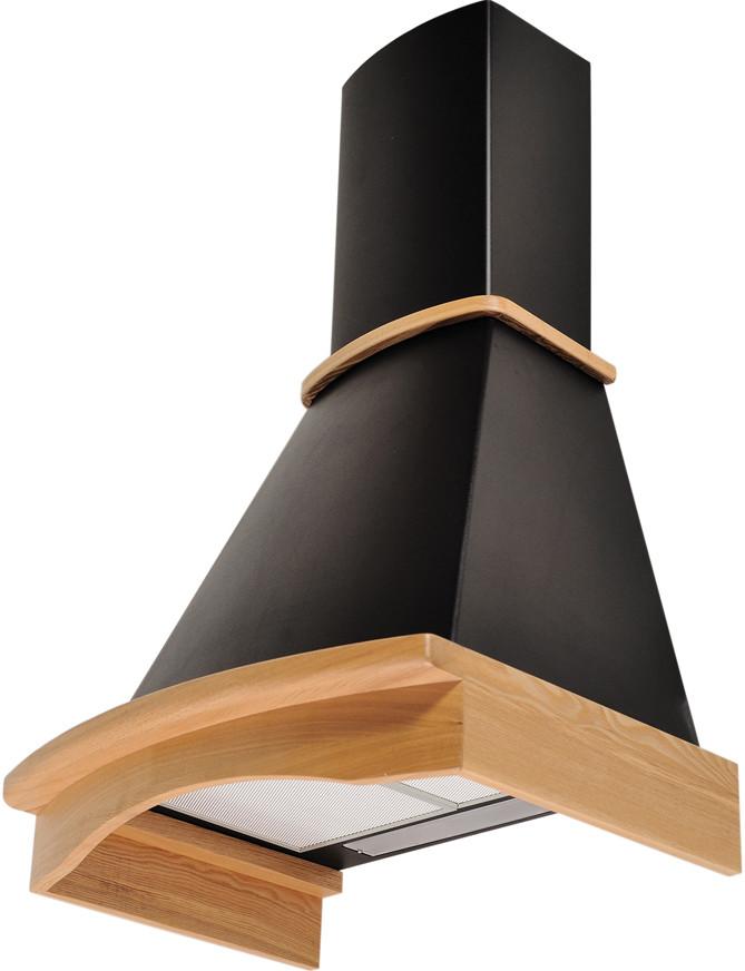 Вытяжки декоративные Pyramida R 60 black