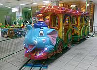 """Детский Рельсовый паровозик """"Африканский экспресс-6м"""", фото 1"""