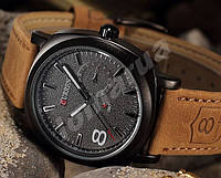 Мужские часы Curren Chronometer GMT 8  Black