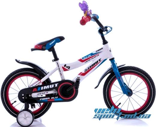 """Детский велосипед Azimut Fiber 14"""" -   Интернет-магазин """"VELOSPORT.OD.UA""""  в Одессе"""