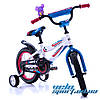 "Детский велосипед Azimut Fiber 14"", фото 4"