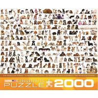 Пазл Мир собак, 2000 элементов, EuroGraphics
