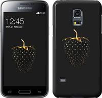 """Чехол на Samsung Galaxy S5 mini G800H Черная клубника """"3585u-44"""""""