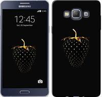 """Чехол на Samsung Galaxy A7 A700H Черная клубника """"3585u-117"""""""