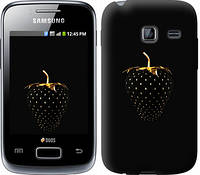 """Чехол на Samsung Galaxy Y Duos S6102 Черная клубника """"3585u-251"""""""