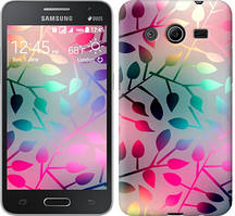 "Чехол на Samsung Galaxy Ace 4 Lite G313h Листья ""2235u-208"""