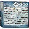 Пазл Самолеты 2-й Мировой войны, 300 элементов, EuroGraphics