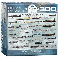 Пазл Самолеты 2-й Мировой войны, 300 элементов, EuroGraphics, фото 1
