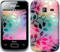 "Чехол на Samsung Galaxy Y Duos S6102 Листья ""2235u-251"""