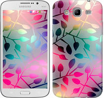 "Чехол на Samsung Galaxy Mega 5.8 I9150 Листья ""2235u-309"""