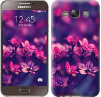 "Чехол на Samsung Galaxy E7 E700H Пурпурные цветы ""2719u-139"""
