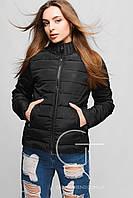 Helix Однотонная демисезонная куртка с высоким воротником 25174