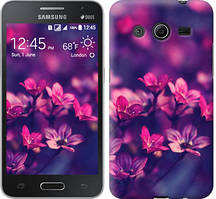 "Чехол на Samsung Galaxy Ace 4 Lite G313h Пурпурные цветы ""2719u-208"""