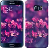 "Чехол на Samsung Galaxy Star Plus S7262 Пурпурные цветы ""2719u-360"""