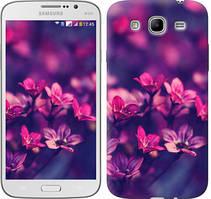 """Чехол на Samsung Galaxy Mega 5.8 I9150 Пурпурные цветы """"2719u-309"""""""