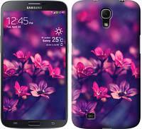 """Чехол на Samsung Galaxy Mega 6.3 i9200 Пурпурные цветы """"2719u-167"""""""