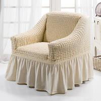 Чехол для кресла Arya Burumcuk оригинал Кремовый (Натуральный)
