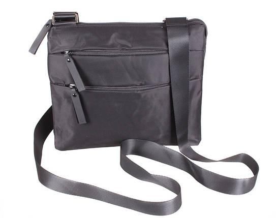 0ea570f92beb Мужская тканевая сумка через плечо черная купить в Киеве с доставкой ...