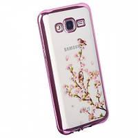 Чехол Remax Osaka Series для Samsung G920 (S6) Sakura Blossom (Pink)