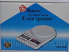 Электронные кухонные весы Domotec MS-400 до 10 кг