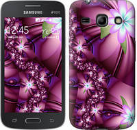 "Чехол на Samsung Galaxy Star Advance G350E Цветочная мозаика ""1961c-210"""