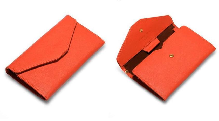 Женский Клатч оранжевый